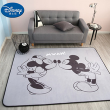 Black White Mickey Minnie Mouse Rug Children Baby Crawling Game Mat Carpet  children Mat yoga mat Bedroom carpet Picnic mat