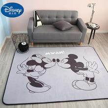 Black White Mickey Minnie Mouse Rug Children Baby Crawling Game Mat Carpet  children Mat yoga mat Bedroom carpet Picnic mat