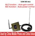 Trabalho na área de mau sinal GSM 900 mhz reforço exibição CIG + Auto Controle de Ganho ganho 65dbi GSM booster, GSM repetidor w/cabo de antena
