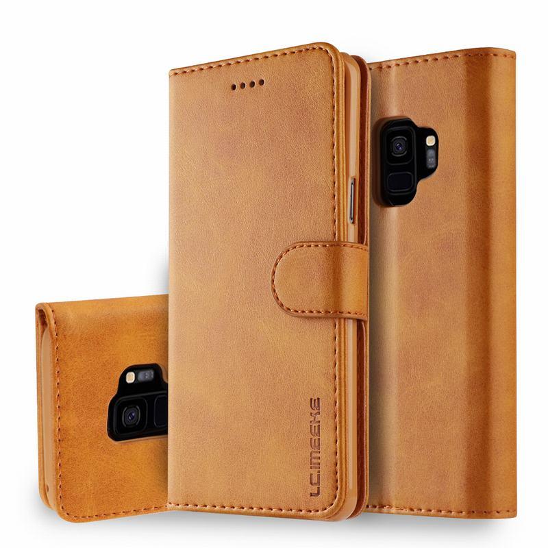 Роскошный чехол-кошелек из искусственной кожи для samsung galaxy S9 S9Plus, чехол для телефона samsung galaxy S9 Plus из ТПУ, полноразмерный чехол для телефона