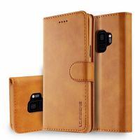 Funda de teléfono para samsung galaxy S9 S9Plus, carcasa de cuero PU de lujo, para galaxy S9 Plus, TPU, todo incluido