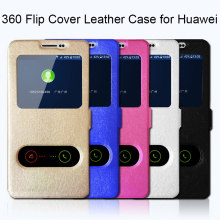 360 Full Cover Case for Huawei Y6 2018 Y3 ii Y5 Lite Original Leather Case for Huawei Y9 Y7 Pro 2019 Flip Case for Y7 Prime 2018(China)