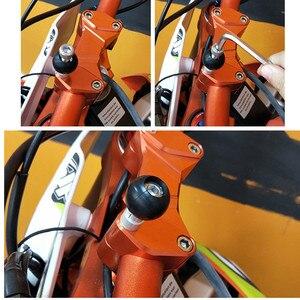 Image 5 - Motorcycle Handlebar Clamp Base with 1 Inch Ball for For RAM B 367U for Kawasaki Car Vehicle Phone Holder Bolt Bracket