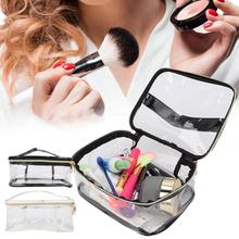 Makeup Kit Full Professional 2 Colors PVC Portable Marbling