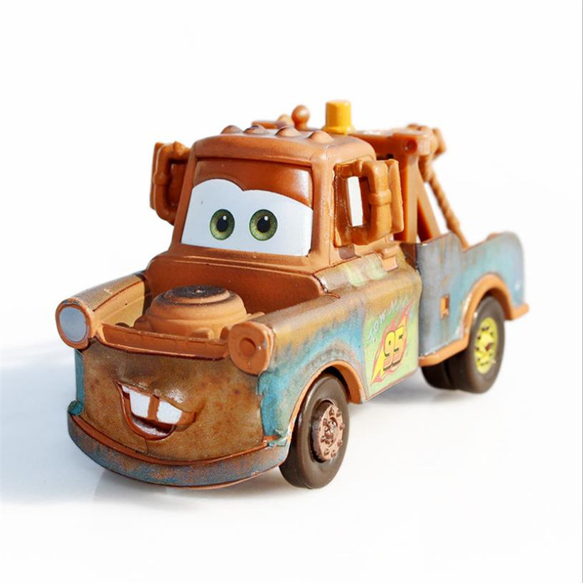 Cars Disney Pixar Cars 2 And Cars 3 Tow Mater Diecast Metal Alloy Toy Car 1:55 Loose Brand New In Stock