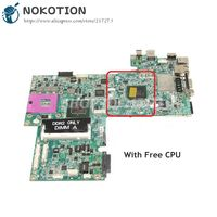 NOKOTION CN 0UK434 0UK434 MAIN BOARD For Dell Inspiron 1720 Laptop Motherboard 965GM DDR2 17 inch Free CPU|Motherboards| |  -