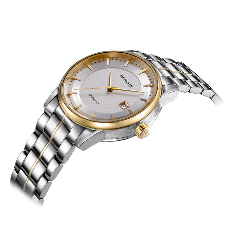 OCHSTIN montre hommes automatique montres-bracelets en acier montres de Sport automatique Date 2016 horloge hommes Relogio Masculino montre d'affaires hommes - 4