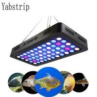 Yabstrip 165 W двойной чип лампа с полным спектром для аквариума светодиодный завода светать Фито лампа для аквариумы аквариум свет лампы
