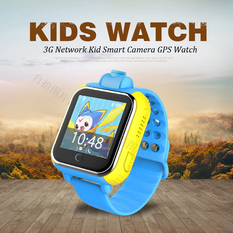 720P Remote Camera GPS LBS WIFI Location 1.54 Touch Screen Kid Child 3G Android Smart Wristwatch SOS Monitor Tracker Alarm Watch english smart watch d100 elderly heart rate monitor fall down alarm function gps lbs wifi tracker montre connecter android f36