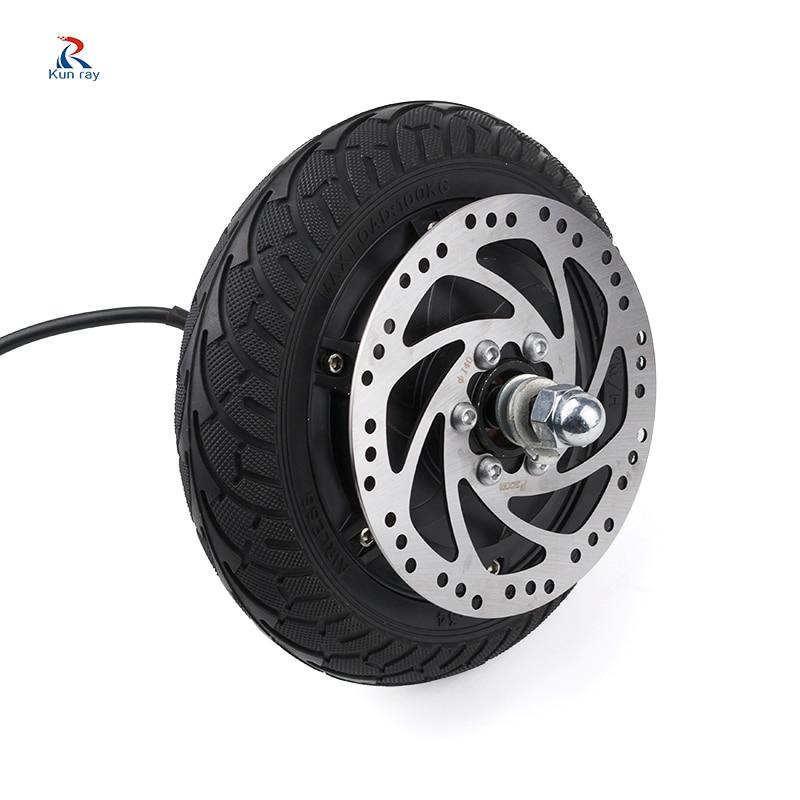 24 v 36 v 48 v 350 w 500 w hub motor scooter dis freio brushless motor elétrico E-SCOOTER roda