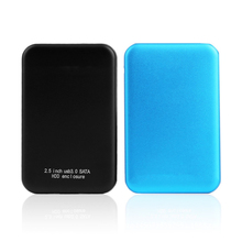 Etmakit Fashion USB 3 0 HDD SSD SATA External Aluminum 2 5 Hard Drive Disk Box