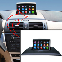 Car DVD No Disk GPS Audio System With HD DVR For BMW X3 TPMS For Option