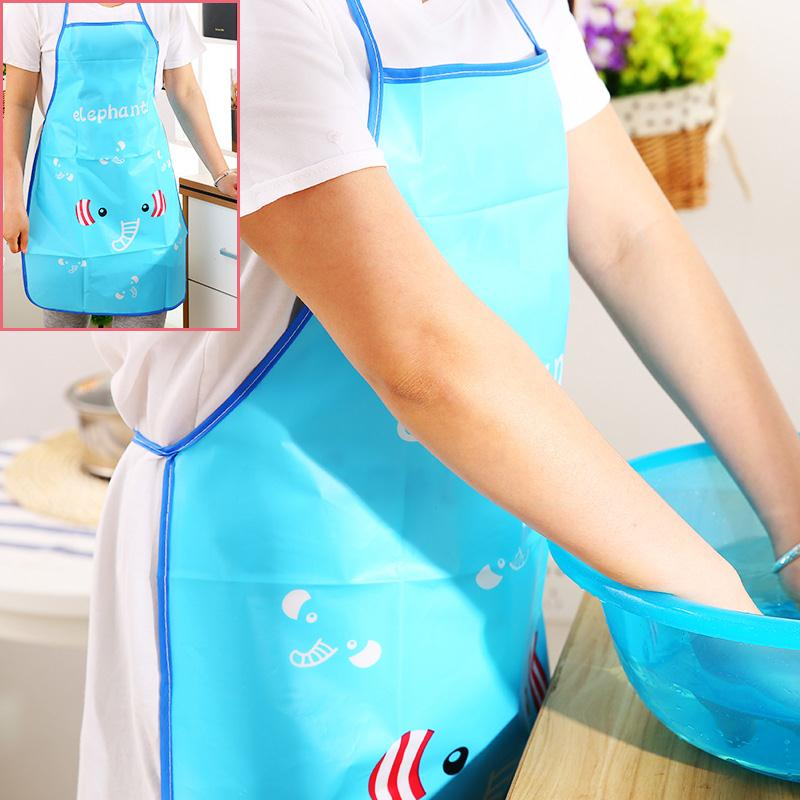 Back To Search Resultshome & Garden Bear Apron With 1 Pair Sleeve Waist Bib Anti-oil Pocket Apron Dress Set Household Cleaning Tool Bbq Tool Products Hot Sale