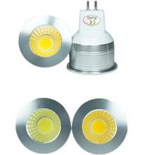 LED GU10 COB Mini GU10 MR16 MR11 3 W 35 Mm Dimmable Warm White 2700 K Daylight Dingin Putih lampu Bohlam Lampu Mengganti Lampu Halogen(China)
