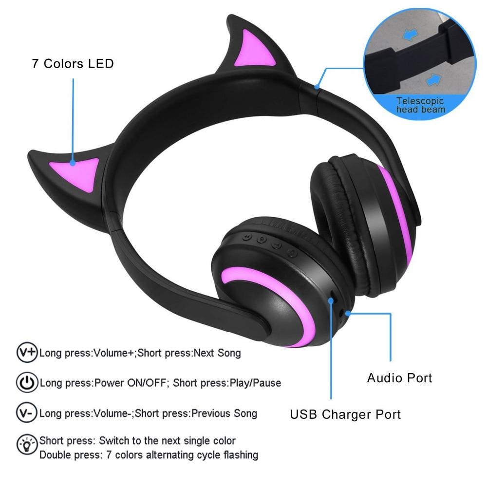 E2109-glowing bluetooth headphone-Devil ear-22