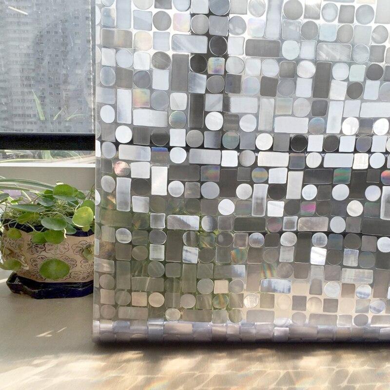 CottonColors Prozori o privatnosti Filmovi Premium Bez ljepila 3D - Kućni dekor - Foto 3