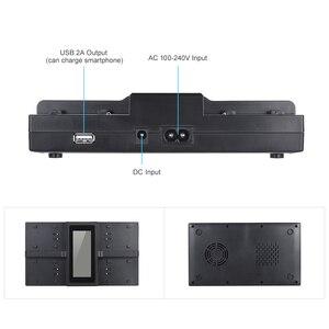 Image 4 - Andoer NP F970 4 Channel Digital Camera Battery Charger for Sony NP F550 F750 F950 NP FM50 FM500H QM71 with DC Car Charger