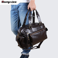 New Shoulder Bag PU Leather Men Bag Shoulder Messenger Bags Men Handbag Tide Large Capacity Travel Bags