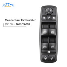 New Electric Power Window Switch A1698206710 For Mercedes-Benz B-Klasse W245 A 169 820 67 10 1698206710 new electric power window switch a1698206710 for mercedes benz b klasse w245 a 169 820 67 10 1698206710