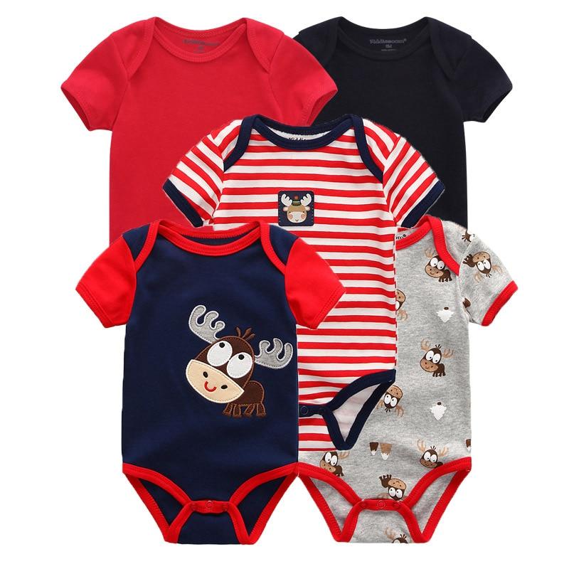 Kiddiezoom детские комбинезоны пижамы для маленьких девочек Дети Bebe Infantil одежда для новорожденных одежда из хлопка Одежда для маленьких мальчиков, Товары для детей - Цвет: baby boy 5127
