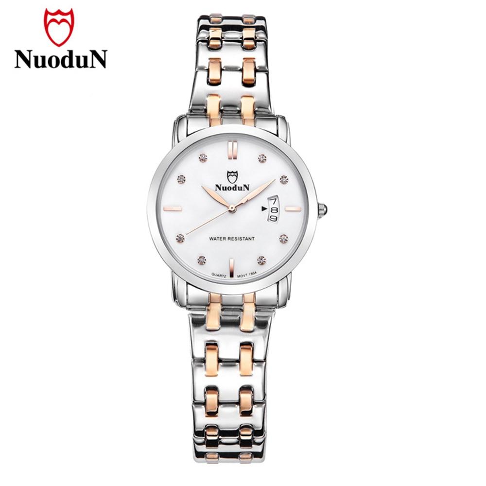Femei de lux de ceas din oțel inoxidabil Band Pentru a marca ceas cuarț Femei calendar de cristal de ceasuri de mînă Ladies Gift Clearance Sale