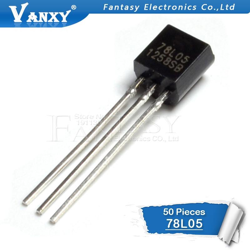 50PCS 78L05 TO92 78L05 TO-92 L78L05 New And Original IC
