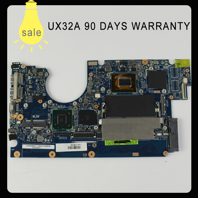 все цены на UX32A Laptop Motherboard for ASUS UX32VD rev2.4 2.2 Main board i3-2365u cpu integarted HD Graphics 4000 2GB VRAM 100% Tested онлайн