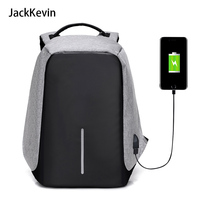 Men Business Backpacks Multifunction USB Charging Design 15inch Laptop Backpacks For Teenager Anti Theft Bags
