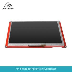 Image 3 - NEXTION 7,0 Nextion интеллектуальная серия NX8048P070 011R HMI IPS RGB 65K резистивный сенсорный дисплей без корпуса