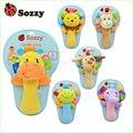 1 pcs Sozzy bebê musical chocalhos Brinquedos do bebê brinquedos de pelúcia animais de pelúcia infantil Bene Chocalhos de brinquedo bonito para o Bebê