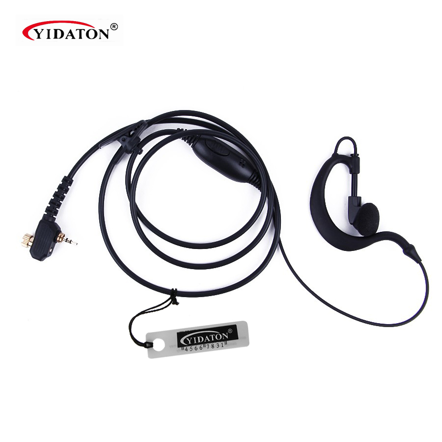 Earphone Earphone PTT Headset Mic untuk Motorola Tetra Dua Arah Radio MTH800 MTP850 MTH600 MTH650 MTH850 MTS850 Walkie Talkie