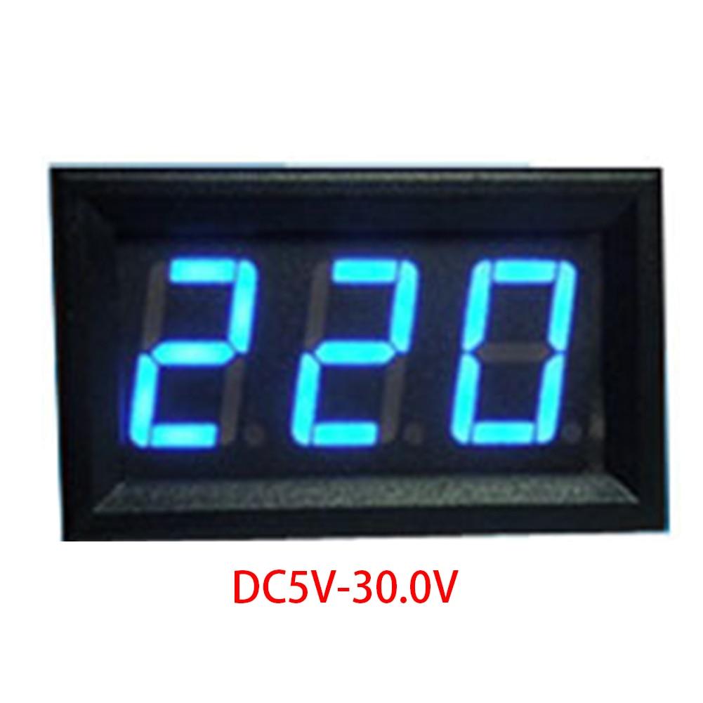 DC 4.5V-30.0V Voltmeter High Quality 0.56 inch LED Digital Voltmeter suitable for different occasionsDC 4.5V-30.0V Voltmeter High Quality 0.56 inch LED Digital Voltmeter suitable for different occasions