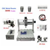 ER11 DIY 3040 metal engraving machine Pcb Milling Machine wood cnc router USB port