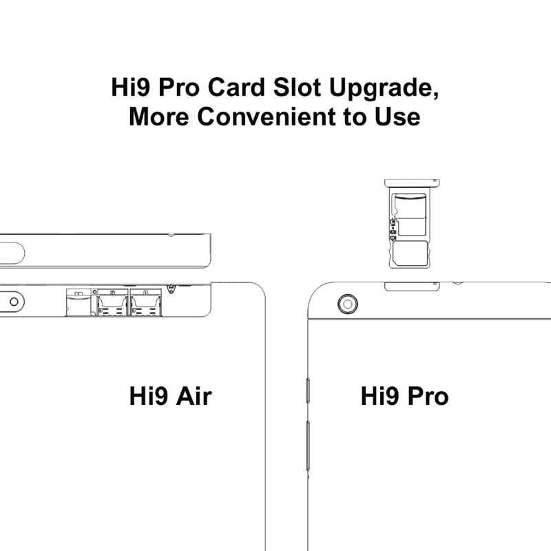CHUWI Original Hi9 Pro Android 8.0/8.1 Tablet PC MT6797 X20 Deca Core 3GB RAM 32GB ROM 2K Screen Dual 4G Tablet 8.4 Inch Tablet