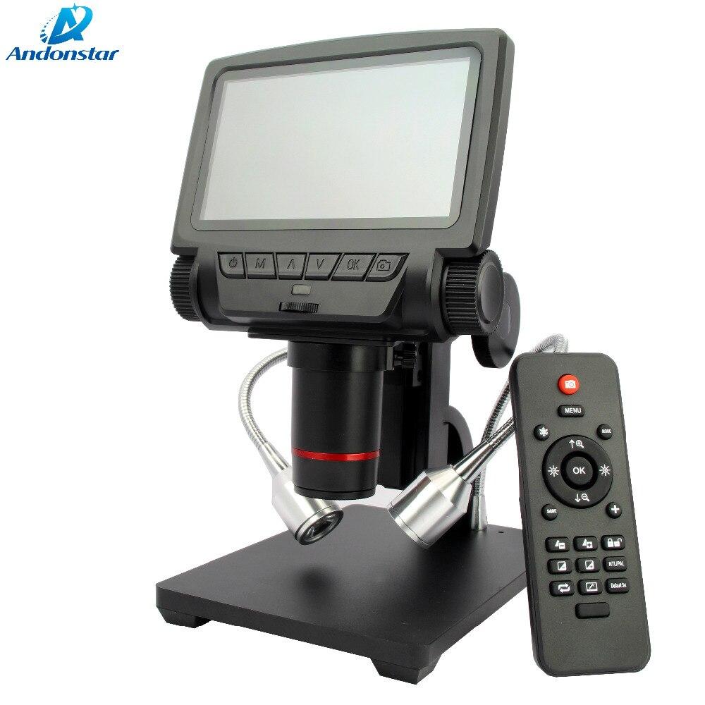 Image 5 - Andonstar デジタル USB/HDMI/AV 顕微鏡 ADSM301 5 インチ内蔵ディスプレイ高オブジェクト距離 THT SMD ツール測定ソフトウェアmicroscope microscopehdmi microscopemicroscope hdmi -
