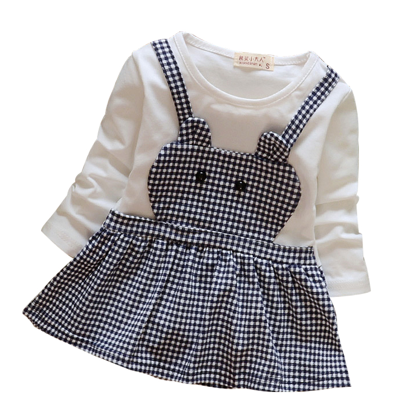 Newest Infant Baby Girl Dress 2016 New Casual Autumn Baby