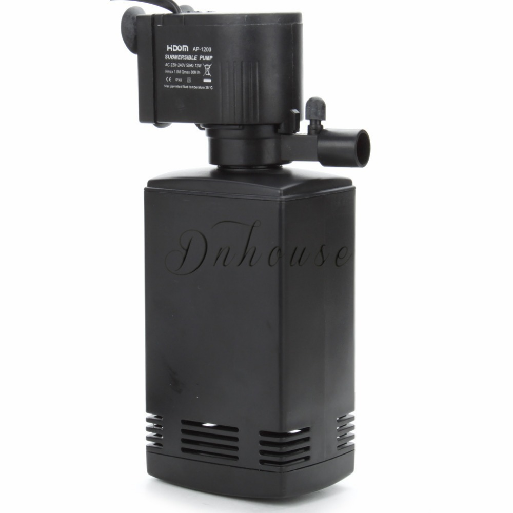 Aquarium accessories 13w internal water filter aquarium for Air pump for fish tank