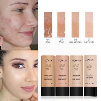 MIXDAIR Face Liquid Foundation Nawilżający podkład do makijażu BB Cream Korektor rozjaśniający Naturalny podkład do twarzy Pełne pokrycie tanie i dobre opinie Krem Fundacja Pożywne Kontrola oleju Wodoodporna wodoodporny Krem nawilżający Rozjaśnić Wybielanie Naturalne 35ml Chiny