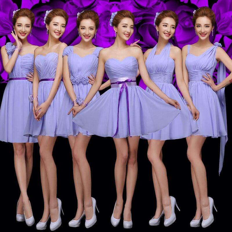 Contemporáneo Vestidos De Dama Jr Púrpura Ideas Ornamento ...