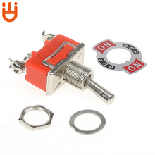1121 Button switch single pole single-throw 3-foot 2-step shaking arm switch toggle power switch