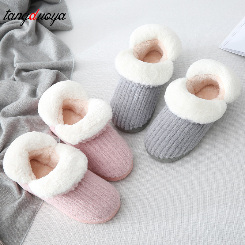 winter warm slippers men & women home slippers indoor shoes winter shoes women ladies slippers pantufa adulto цена 2017