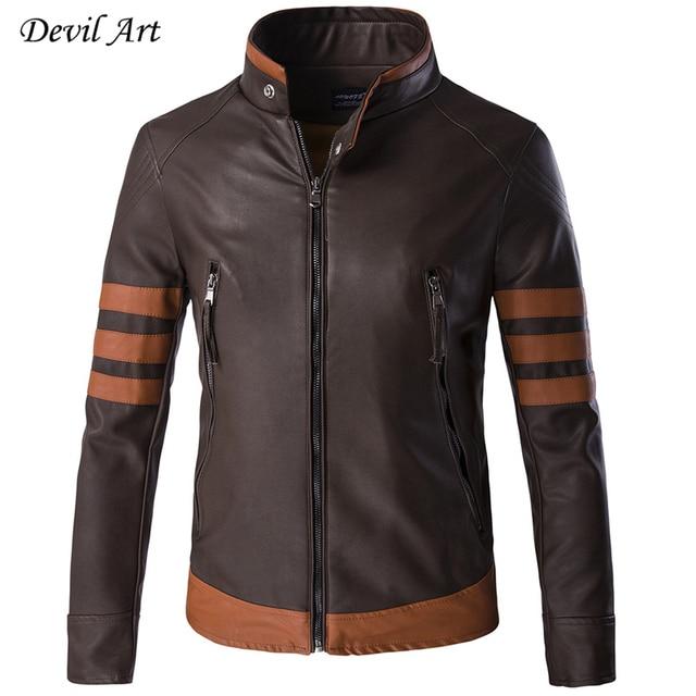 New Arrive Large Size Leather Jacket Men Brand Male Bomber Motorcycle Biker Men's Coat Jaqueta De Couro Masculina Coat