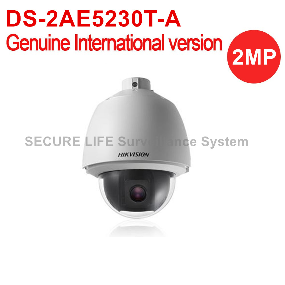 Free shipping DS-2AE5230T-A English version 2MP Turbo PTZ Dome Camera 30x optical zoom 5230 б у белорусь