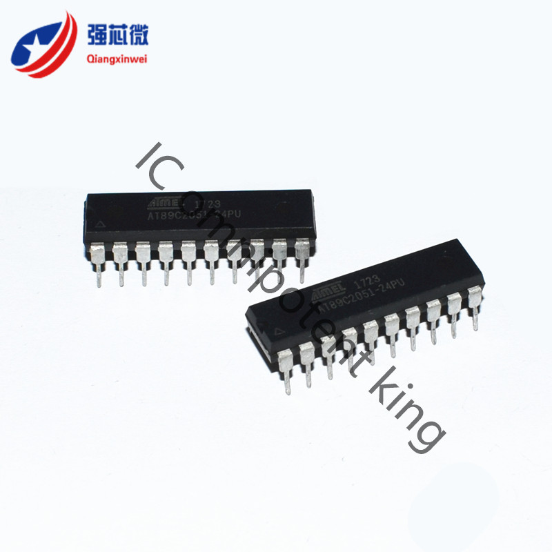 Welcome to buy AT89C2051-24PU AT89C2051-24 AT89C2051  Integrated IC Chip original