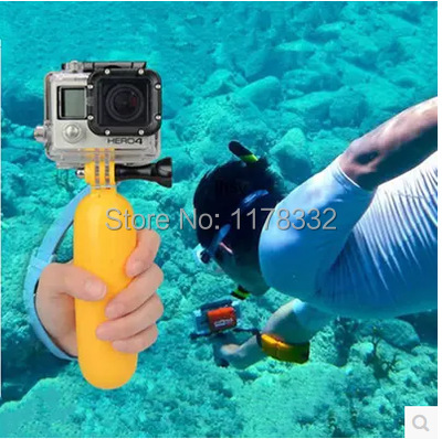 EMS Gopro Floating Monopod Bobber stick Hand Grip Mount Tripod For Camera Go Pro Hero 2 3 4 Sj5000 SJ6000 Sj4000