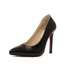 2017 New High-heeled Shoes Woman Pumps Wedding Shoes Fashion Sexy Women Shoes Classic Black High Heels  Free shipping