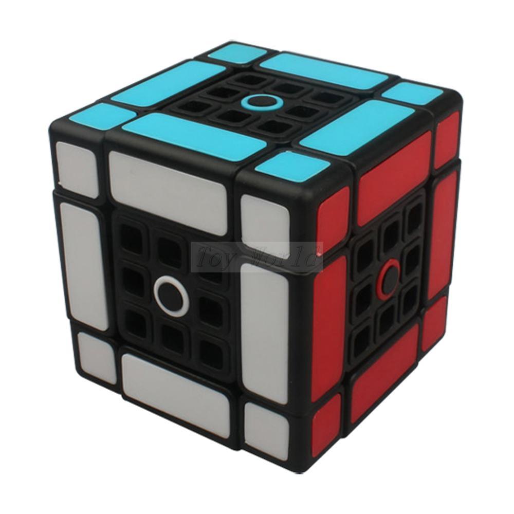 ФОТО New limCube Dual 1.0 3x3 Magic Cube Black Dual 3x3x3 Cube version 1.0 Black fangshi Juguetes Educativo