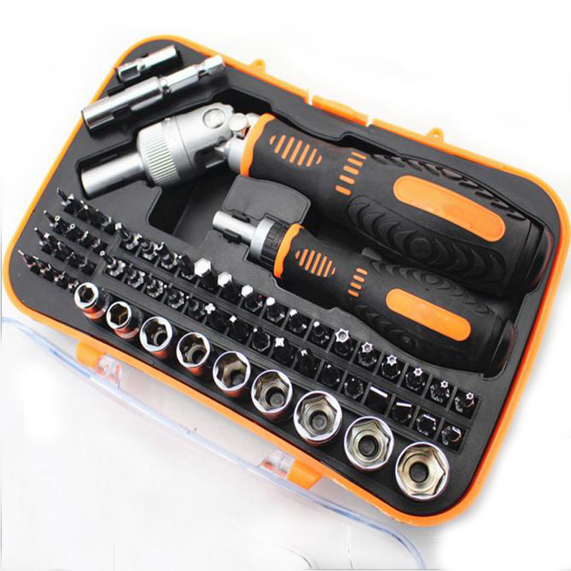 Multifunction CR V Screwdriver Sleeve Tools Kit Support Demolition Mobile Phone Computer for Home Mechanical With Storage Box
