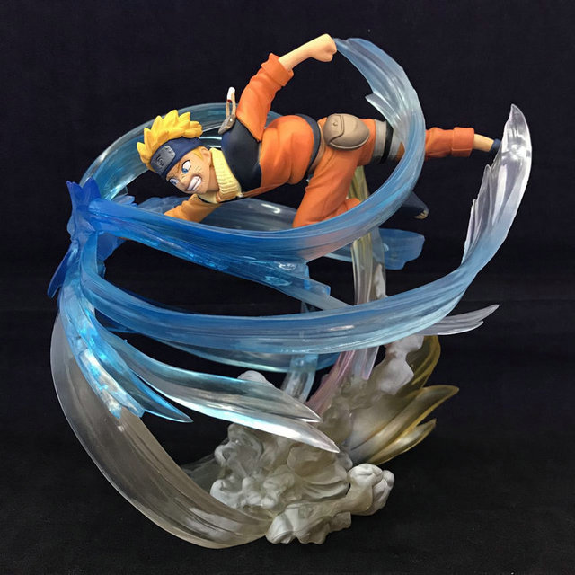 Uzumaki VS Sasuke Action Figures