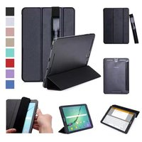 Tab S3 9 7 Ultra Slim Magnetic Folding PU Flip Smart Case For Samsung Galaxy Tab